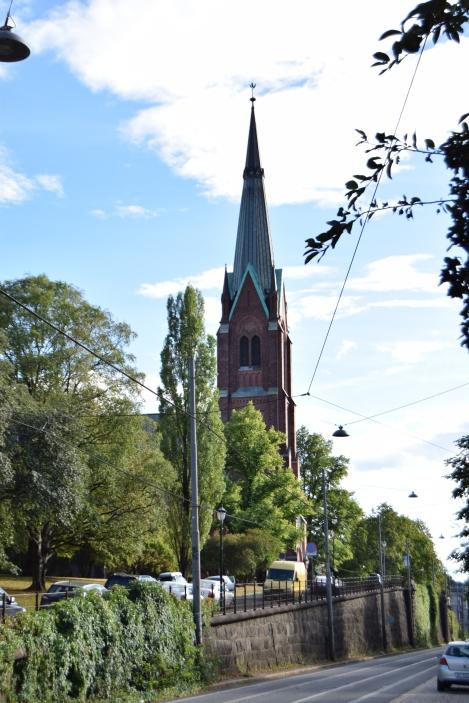 Looks very similar to Johanneskirken in Bergen